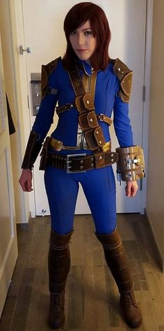 Kick-ass Sole Survivor cosplay byViverra Cosplay fallout fallout cosplay fallout cosplayers vault 111 cosplay: