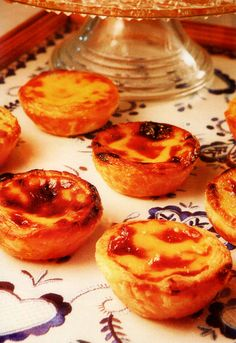 This recipe makes no claims to authenticity. It's not the recipe used at Lisbon's famed Antiga Confeitaria de Belém, where these sweet-egg...