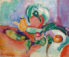 Still Life with Vegetables, 1905 - Henri Matisse - WikiArt.org