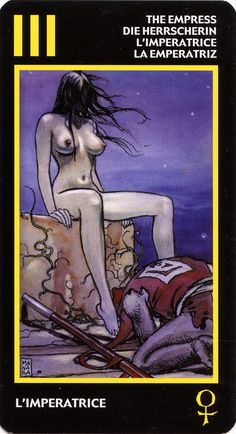 The Empress - Manara Tarot