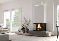 Wonderful Pics Gas Fireplace bookshelves Ideas The next thunderstorm exterior may very well be frightening, but your hearth is really so delightful! Fireplace Bookshelves, Home Fireplace, Modern Fireplace, Fireplace Design, Fireplaces, Fireplace Glass, Living Room Decor, Sweet Home, New Homes