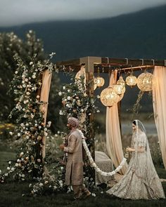 Sikh Wedding Decor, Wedding Theme Design, Wedding Backdrop Design, Outdoor Indian Wedding, Wedding Entrance, Indian Wedding Decorations, Wedding Stage, Wedding Designs, Wedding Ceremony