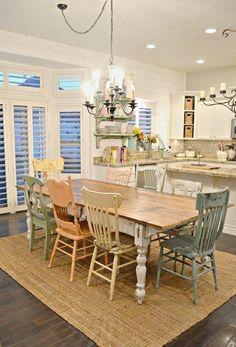 Cool 80 Lasting Farmhouse Dining Room Decor Ideas https://insidecorate.com/80-lasting-farmhouse-dining-room-decor-ideas/