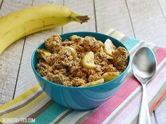 Banana Nut Granola - BudgetBytes.com