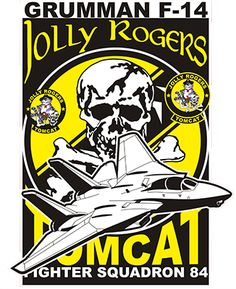 Tomcat Jolly Rogers Men's Premium T-Shirt Military Jets, Military Aircraft, Air Fighter, Fighter Jets, Maverick And Goose, Uss Enterprise Cvn 65, F14 Tomcat, Airplane Fighter, American Fighter