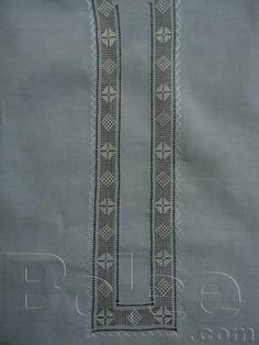 Handmade embroidered (Original Tarkashi) Cotton Kameez/Kurta Shalwar (unstiched) Complete suite in decent colors. Hand Embroidery, Embroidery Designs, Kurta Designs, Gull, Neck Design, Boys Shirts, Crochet Lace, Men Dress, Cotton