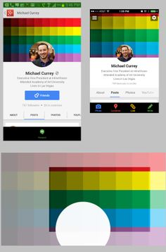 Check out the difference between the Google Plus app on Android and iOS... Download our free template so you can design a Google+ cover photo that works on multiple devices and screen sizes.