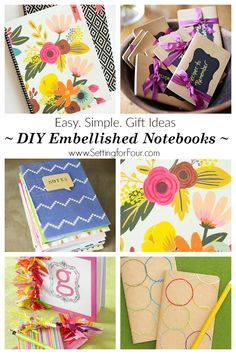 DIY notebook ideas -