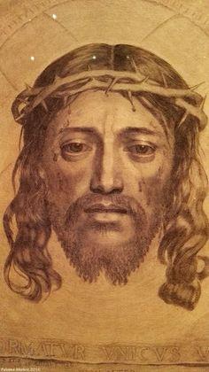 """Exposición: """"El grabado flamenco"""" """"Cabeza de Cristo con la corona de espinas"""". """"Head of Christ with the crown of thorns."""" Flemish engraved"""