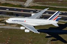 A French beauty (and clean!)  Air France Airbus A380