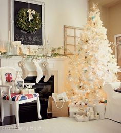 Craftberry Bush: A Christmas Mantel