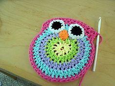 Crochet owl purse pattern. Great for little girls x