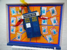 Doctor who Tradis display year 5 Display Boards For School, School Displays, Public, Box, Snare Drum