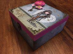 La caja donde va el album Gorjuss