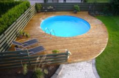 Outdoor Areas, Patio, Pool Houses, Pools, Projects, Garten, Deck, Houses  With Pools, Porch, Swimming Pools, Pool House Shed, Ponds, Terrace, Water  Feature