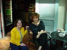 Me with host Joy Behar