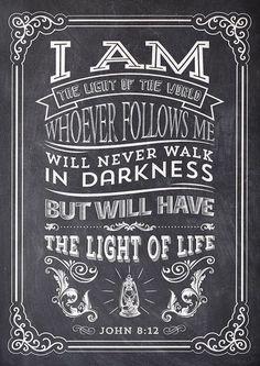I am the light of the world ~~I Love Jesus Christ
