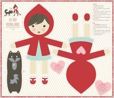 lil_red_fat_quarter fabric by stacyiesthsu on Spoonflower - custom fabric
