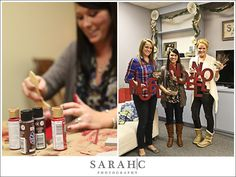 Pinterest Christmas Party! - Printables & Craft Project - Kara's Party Ideas - The Place for All Things Party
