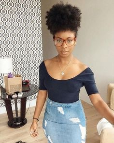 Stylish #afropuff #naturalhair  #naturalhairstyle