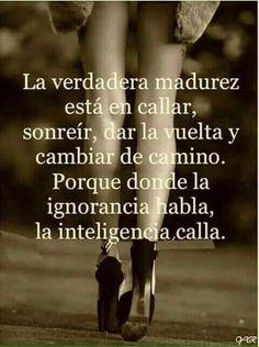 La inteligencia habla!!!!
