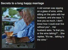 I often tell tell my vino words of affection!