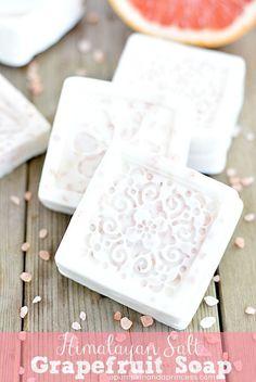 Himalayan Salt Grapefruit Soap