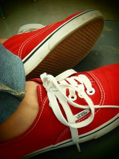 Red vans...I reallyyy want some :)