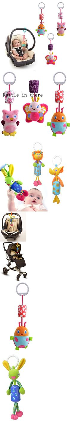 Brand Newborn Bed Bell Rattle Toys Mobile Baby Toys 0 - 12 Months Cartoon Animal Baby Stroller Toys Hanging