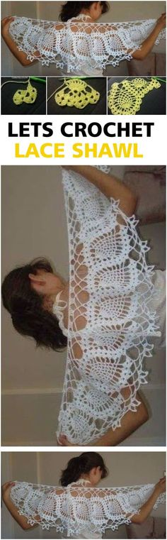 Crochet Lace Shawl
