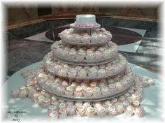Alternative to traditional wedding cake