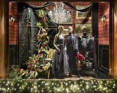 ralph lauren store windows | Ralph Lauren Christmas Window Display