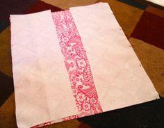 Oil Cloth Tote Bag Tutorial