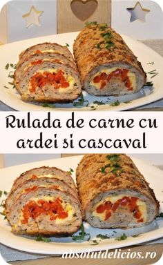 Meatloaf Recipe With Cheese, Cheese Stuffed Meatloaf, Meatloaf Recipes, Homemade Meatloaf, Best Meatloaf, Cheesy Meatloaf, Best Breakfast Recipes, Brunch Recipes, Greek Lemon Potatoes
