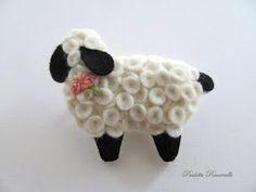 Felt sheep - cute