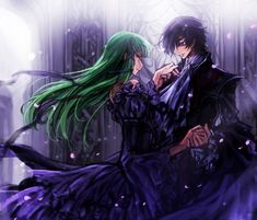 C2 and Lelouch | Code Geass
