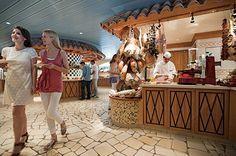 Det nye AIDAmar Buffet restaurant