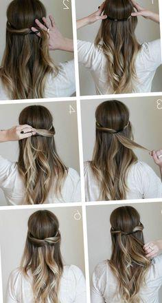 Peinados Faciles De Hacer En Casa Trendypeinados Trendy2019 - Peinados-para-hacer-en-casa