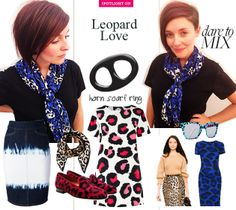 Leopard Love from Liberatti Scarf Rings