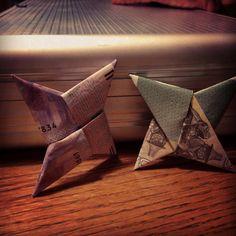 money origami!