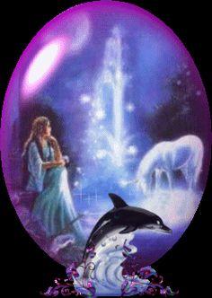 Dolfijnen | Animations-van-francisca.nl Mermaid Barbie, Baby Dolphins, Dolphin Art, Angel Wallpaper, Betty Boop, Animals And Pets, Gif 2, Animation, Fantasy