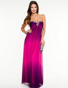 Le Chateau Dress Shop #prom Strapless Dress Formal, Formal Dresses, Homecoming, Outfit Ideas, Gowns, Pretty, Skirts, Outfits, Shopping