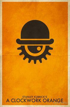 A Clockwork Orange #Poster #Design