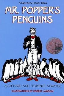 Whole group read aloud ideas with Mr. Popper's Penguins