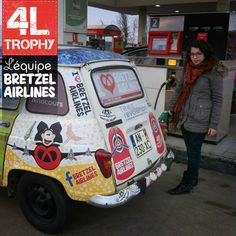 Bretzel Airlines on 4L Trophy 2013  Alsace on the road  www.bretzelairlines.com