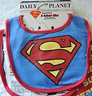 NEW Unisex 3 Baby Superman Water Resistant Bibs, Baby Shower Gift - http://baby.goshoppins.com/feeding/new-unisex-3-baby-superman-water-resistant-bibs-baby-shower-gift/