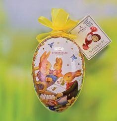 Set6 edelweiss easter eggs alpenland international pinterest marzipan in easter egg gift box negle Images