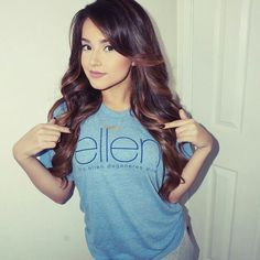So I just went on Ellen this morning and she gave me this shirt. *smiles* I like it.Anyway does anyone wanna hang?- Becky