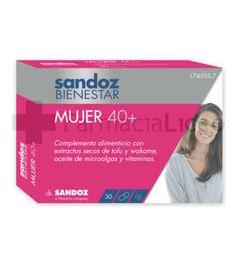 SANDOZ BIENESTAR MUJER 40+ 30 CAPSULAS