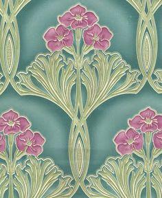 The Art Nouveau Blog: Art Nouveau Wallpaper